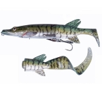 Savage Gear 3D Pike Hybrid 17cm 45g Green Silver Pike