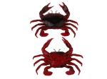 Savage Gear 3D Manic Crab 2,5cm Red Black Crab 5szt