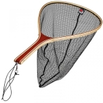 Podbierak DAM Exquisite Wooden Net Rubber Mesh