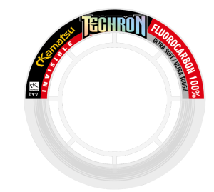 FLUOROCARBON TECHRON 100% HARD 0,41mm 10m 10,43kg