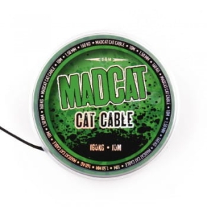 Materiał Przyponowy MADCAT Cat Cable 1,35mm 160kg - 10m