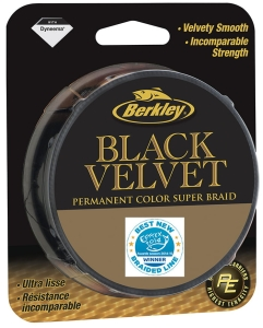 Plecionka Berkley Black Velvet 0.14mm/110m