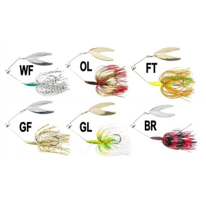 IRON CLAW V-Blade Spinnerbait 12cm 25g WF