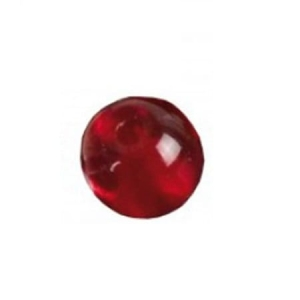 IRON CLAW Koraliki Glass Beads Red 8mm 15szt