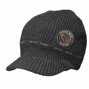 Savage Gear Simply Savage Knitted Beanie w/Brim