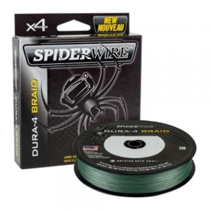 Spiderwire DURA 4 150m 0.10mm 9.1kg Moss Green