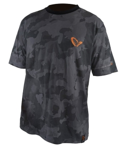 Savage Gear T-shirt Black Savage Tee XL