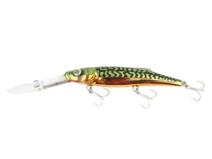 Wobler Salmo Freediver SX Green Metallic Mac 12cm 24g SDR