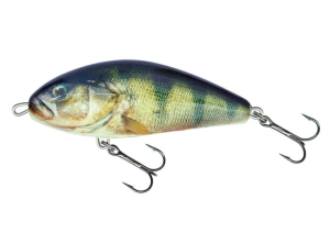 Wobler Salmo FATSO 14 Real Perch 14cm/85g F