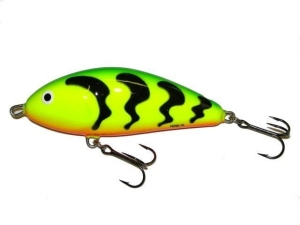 Wobler Salmo FATSO 14 Green Tiger 14cm/85g F