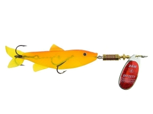 EFFZETT MINNOW SPINNER 3g RED/GLITTER 5138203