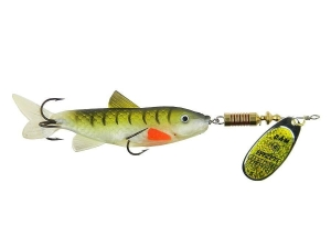 EFFZETT MINNOW SPINNER 3g YELLOW/BLACK 5138103