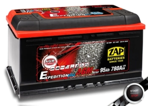 Akumulator ZAP Batteries 95AH/0 AGM