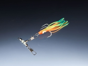 BALZER Octopus with treble hook 1/0 6,5cm Multicol