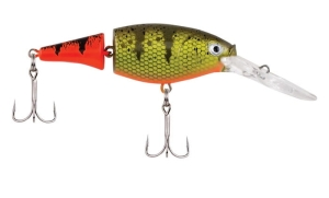 Berkley FLICKER SHAD Jointed FireT 7cm 8,5g Hot Pe