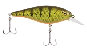 Berkley FLICKER SHAD SHALLOW 5cm 5g Yellow Perch