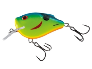 Wobler Salmo SQUAREBILL CHARTREUSE PWDR BLUE 6cm/21g