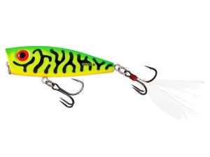 Wobler SALMO Rattlin' Pop 7cm/13g GREEN TIGER FL