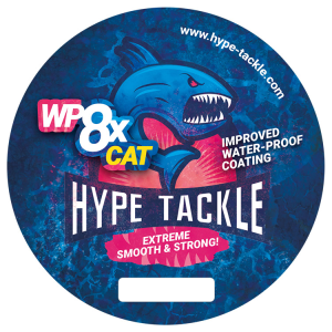 Plecionka Hype Tackle WP8 CAT Blue 0,50mm, 49kg 300m