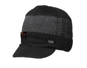 Savage Gear #SAVAGE Knitted Beanie w/Brim