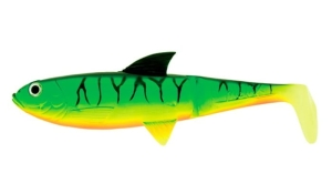 "Molix Pike Shad 7,5"" 18,5cm Only Body Jamaika 2szt."