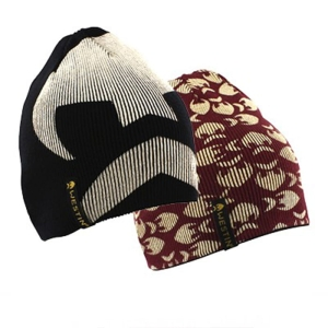 Westin Reversible Beanie One Size Black/Oxblood