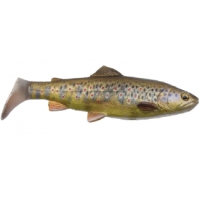 SG 4D Line Thru Trout Rattle Shad 27.5cm MS Brown