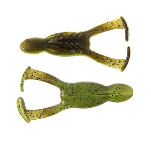 "Reins 4"" 13g Wake Frogs Green Pumpkin Chart 4szt."