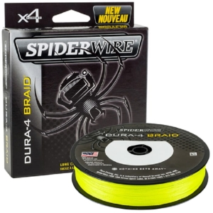 Spiderwire DURA 4 150m 0.10mm 9.1kg Yellow