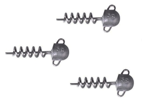 Savage Gear Cork Screw Heads 5g 3szt