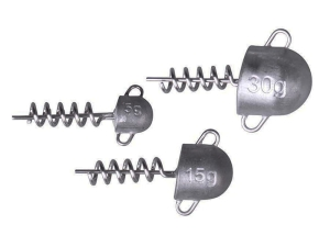 Savage Gear Cork Screw Heads 15g 3szt