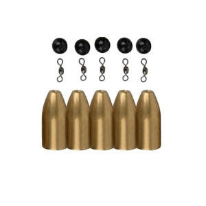 Savage Gear Kulki mosiężne Brass Bullet Kit 7g 5szt