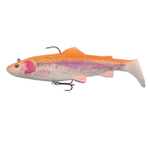 Savage Gear 4D Trout Rattle Shad 17cm 80g Golden Albino