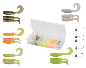 Savage Gear Cannibal Box Kit L 20szt
