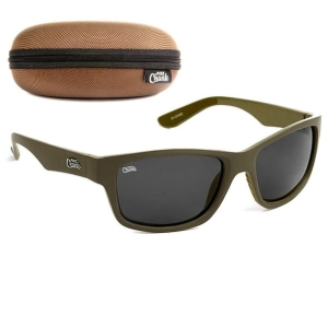 Okulary Fox CHUNK Polarised Sunglasses Khaki Green