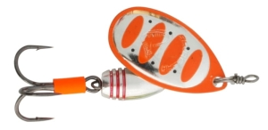 Obrotówka Savage Gear Rotex nr 1/3,5g Fluo Orange Silver