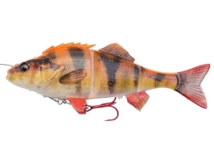 Savage Gear 4D Line Thru Perch 23cm SS 145g Albino