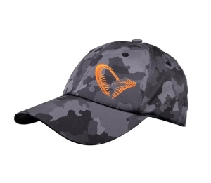Savage Gear Czapka z daszkiem Black Savage Cap