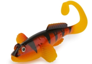 Fox Grondel Twist 10cm 4szt Hot Tiger