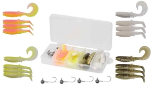 Savage Gear Cannibal Box Kit XS 20szt