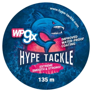 Plecionka Hype Tackle WP9 Black 0,12mm, 9,7kg 135m