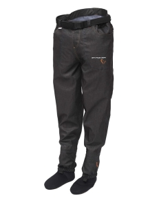Savage Gear Denim Waist Waders w/Stocking Foot L
