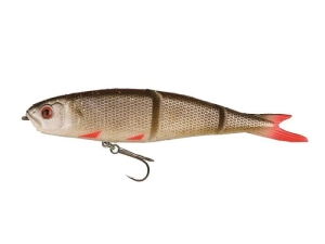 Guma SG Soft 4Play 9.5cm 8.5g Swim&Jerk 13-Rudd