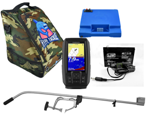 Echosonda Garmin Striker Plus 4 ZESTAW Cover Camo