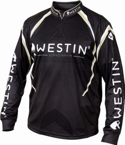 Koszulka Westin Tournament Shirt L Black/Grey