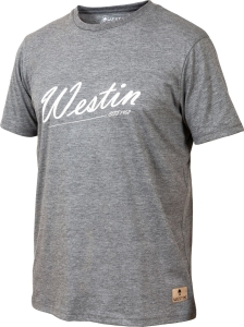 Koszulka Westin Old School T-Shirt XXL Grey Melang