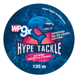 Plecionka Hype Tackle WP9 White 0,12mm, 9,7kg 135m