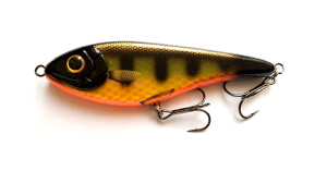 Strike Pro BUSTER Jerk 15cm 75g C504F SS Black Okoboji Perch