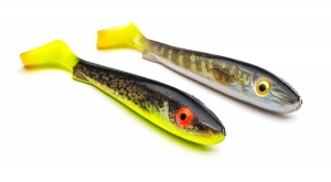 McRubber Jr 17cm Real Pale Pike Hot T&Hot Eelpout