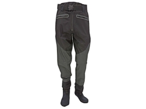 EFFZETT BREATHABLE WAIST WADER W/STOCKINGFOOT L